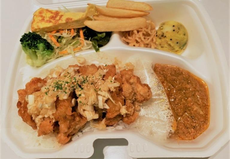 油淋鶏(ユーリンチー)弁当 Yulinchi